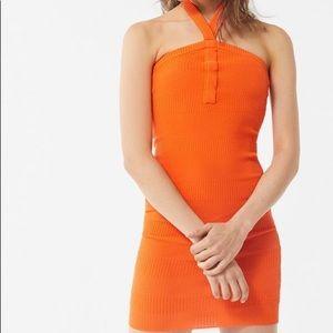 UO Lola Y-Neck Sweater Dress